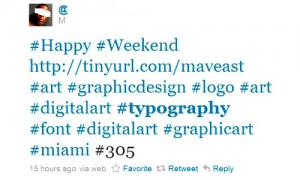 overused hashtags