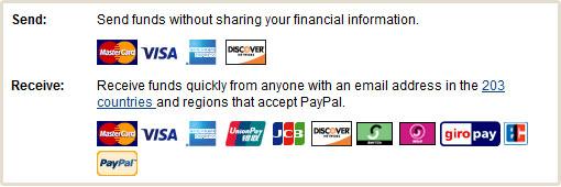 الان تستطيع استلام اموالك عن طريق Paypal