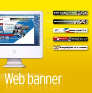 web banner