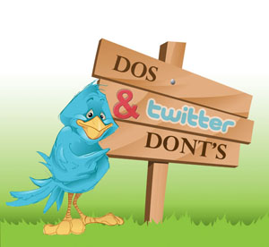 The Do's and Don'ts of Twitter